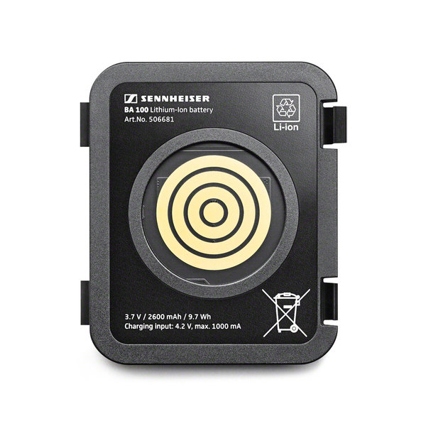 Sennheiser Batterypack | BA 100 | TeamConnect | Li-Ion | 3,7V | 2600 mAh