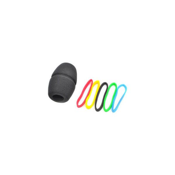 Sennheiser Plopkap   MZW 4032-A   voor MD42, MD 46, MD 425, MD 431 en Evolution 800 en 900 vocal   zwart   inclusief kleur-labelringen