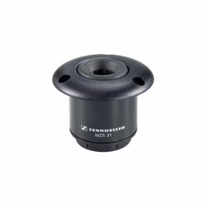 Sennheiser Shockmount   MZS 31   voor MZH zwanenhals microfoons   flush mount   zwart
