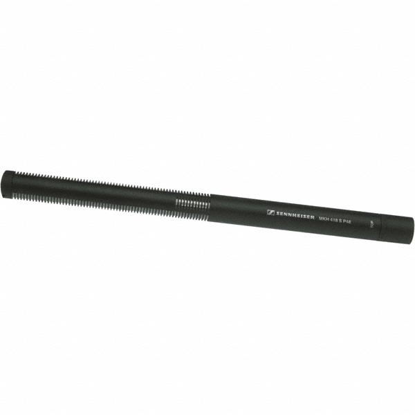 Sennheiser Shotgun microfoon | condensator | MKH 418 S | directioneel en bidirectioneel (MS opstelling) | XLR-5 male | zwart