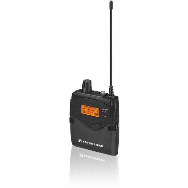 Sennheiser In-ear bodypack ontvanger   EK 2000 IEM-GBW   HDX   stereo   2x Mignon   inclusief IE4 oortje