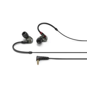 Sennheiser In-ear oortjes | IE 400 PRO | 1,3 m kabel | in smoky black en transparant
