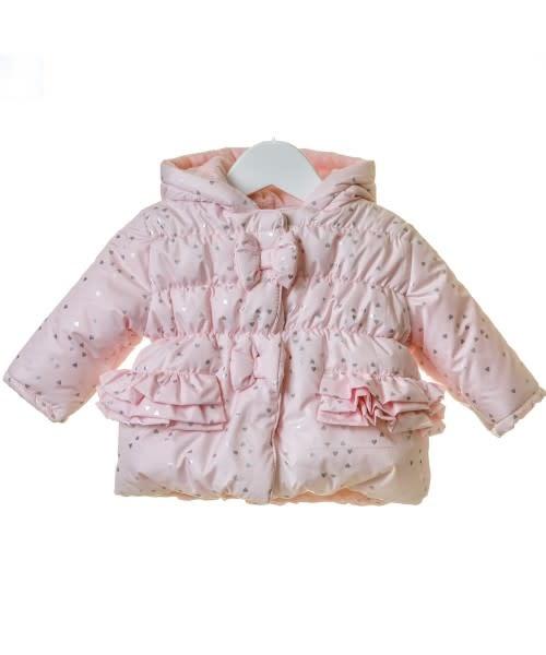 Blues Baby Blues Baby Girls Heart Winter Jacket TT0001 Age 18 Months