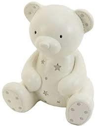 Leonardo Bambino Cream Teddy Money Box