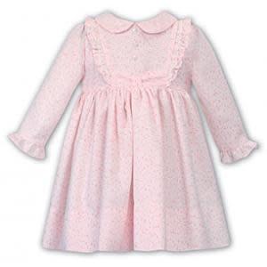 Sarah Louise Dani AW19 Girls Printed Dress 009365
