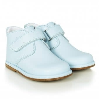 Borboleta Borboleta Boys Blue Leather Boots 2719 - Sergio