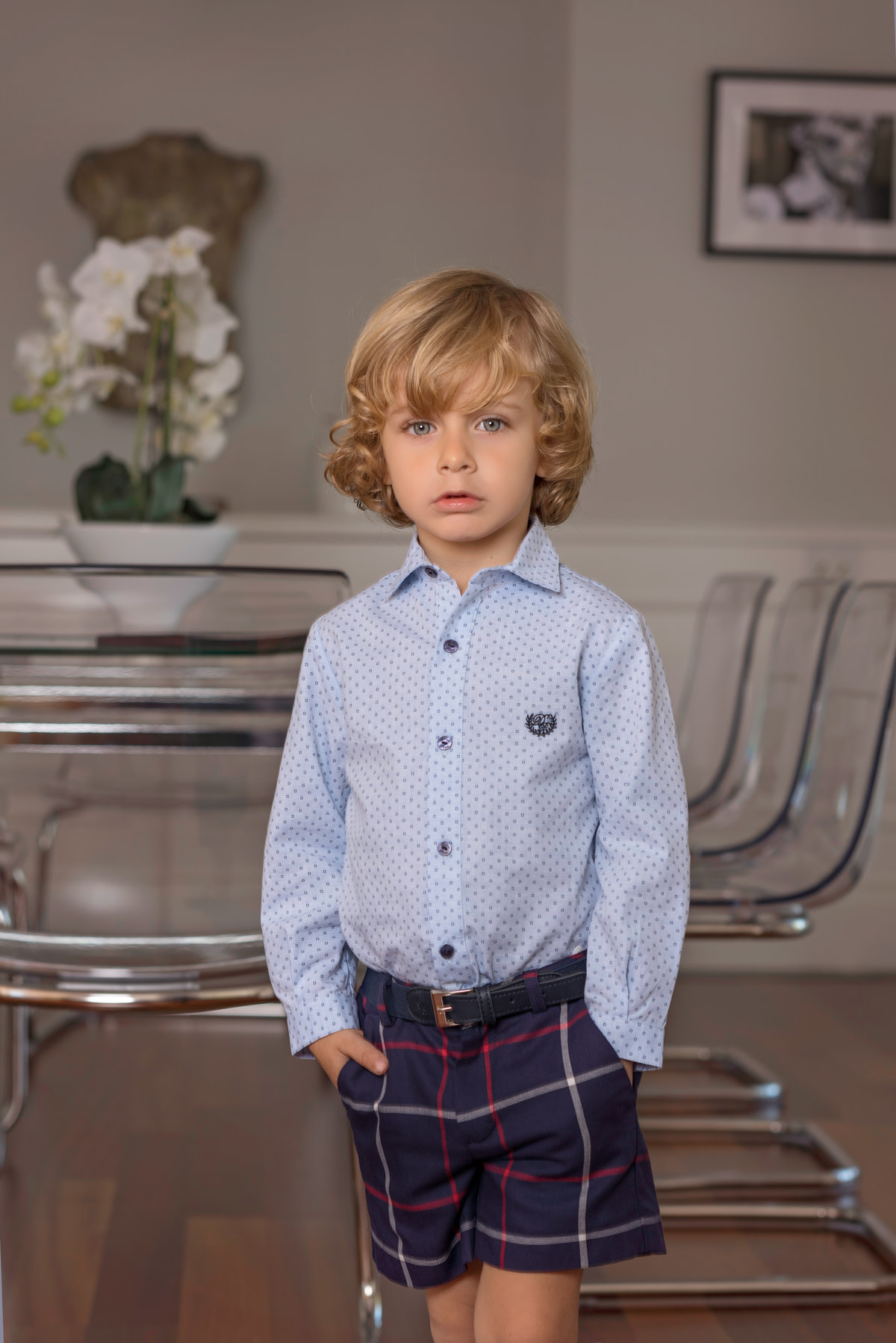 Dolce Petit Dolce Petit AW19 Boys Short and Shirt Set (BELT NOT INCLUDED) 3 Years 2113/2