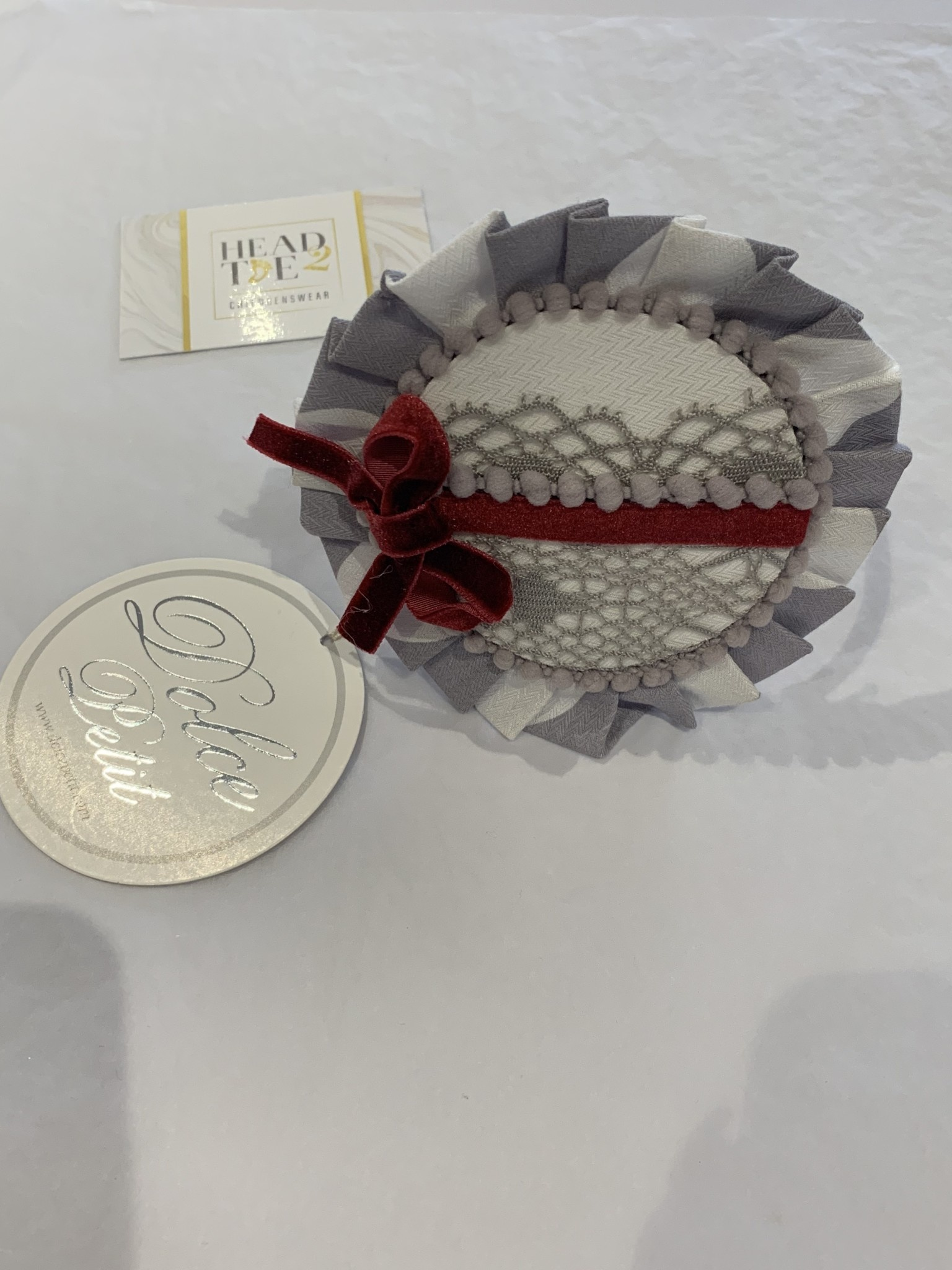 Dolce Petit Dolce Petit Hairband/Clasp 2 in 1 2240/DP