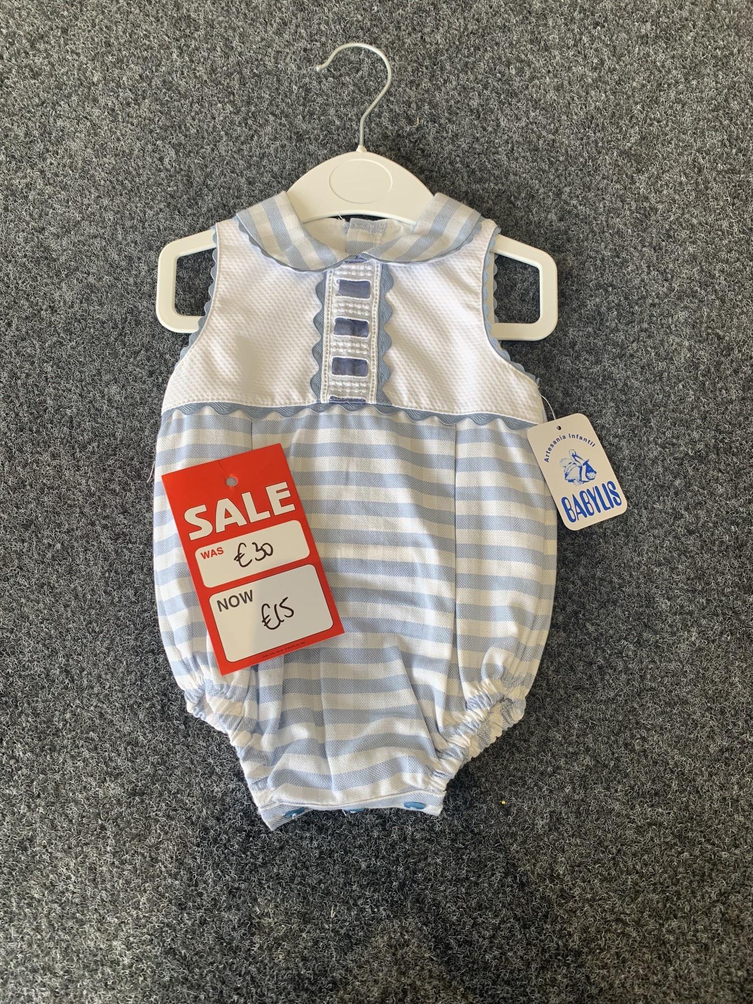 BABYLIS Babylis Boys All In One Romper Summer Sale