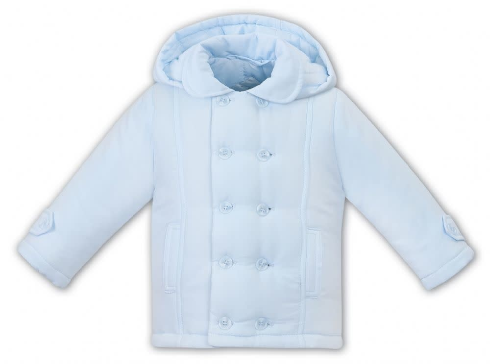Sarah Louise Dani Boys Padded Coat Blue D09394