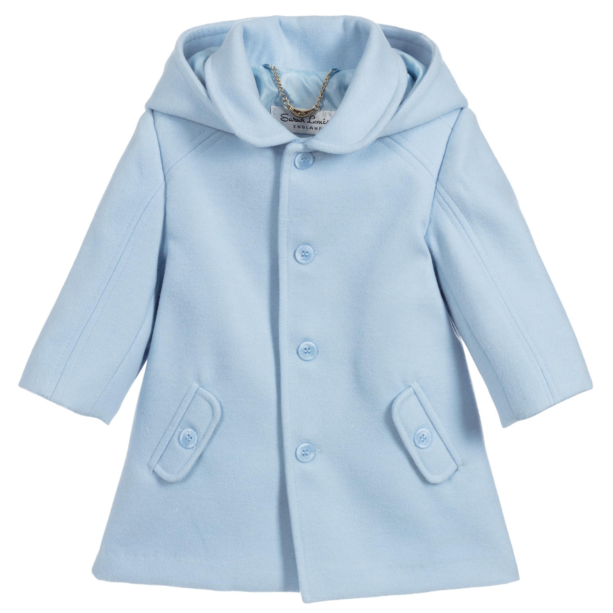 Sarah Louise Sarah Louise AW19 Boys Blue Coat 011777 Age 2 Years