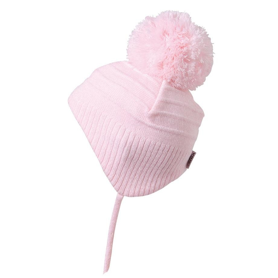 Satila Satila Pink Baby Hat with pom pom Tiny C72914