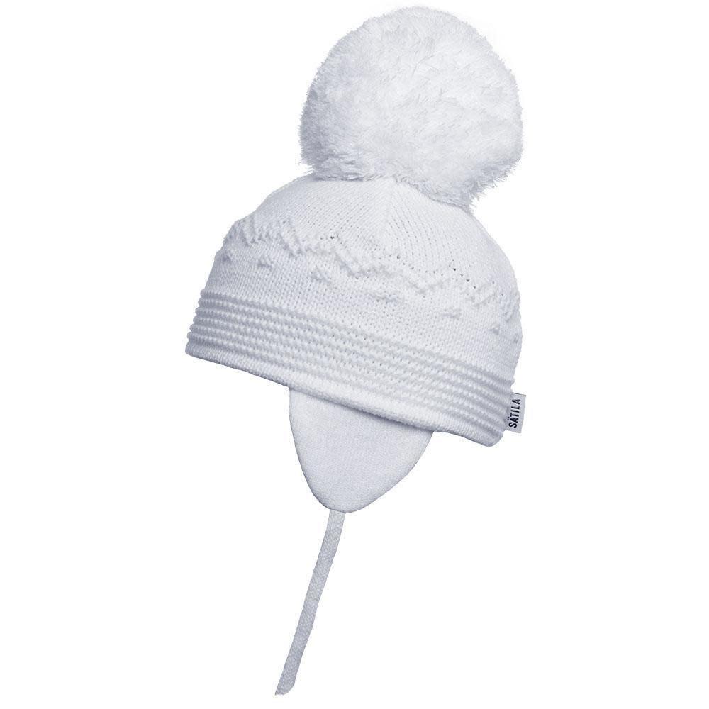 Satila Satila White Pom Pom hat BELLE C61515