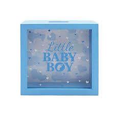 Leonardo Leonardo Little Baby Boy Money Box Blue