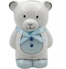 Leonardo Leonardo Blue Teddy Money Bank