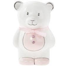 Leonardo Leonardo Pink Teddy Money Bank