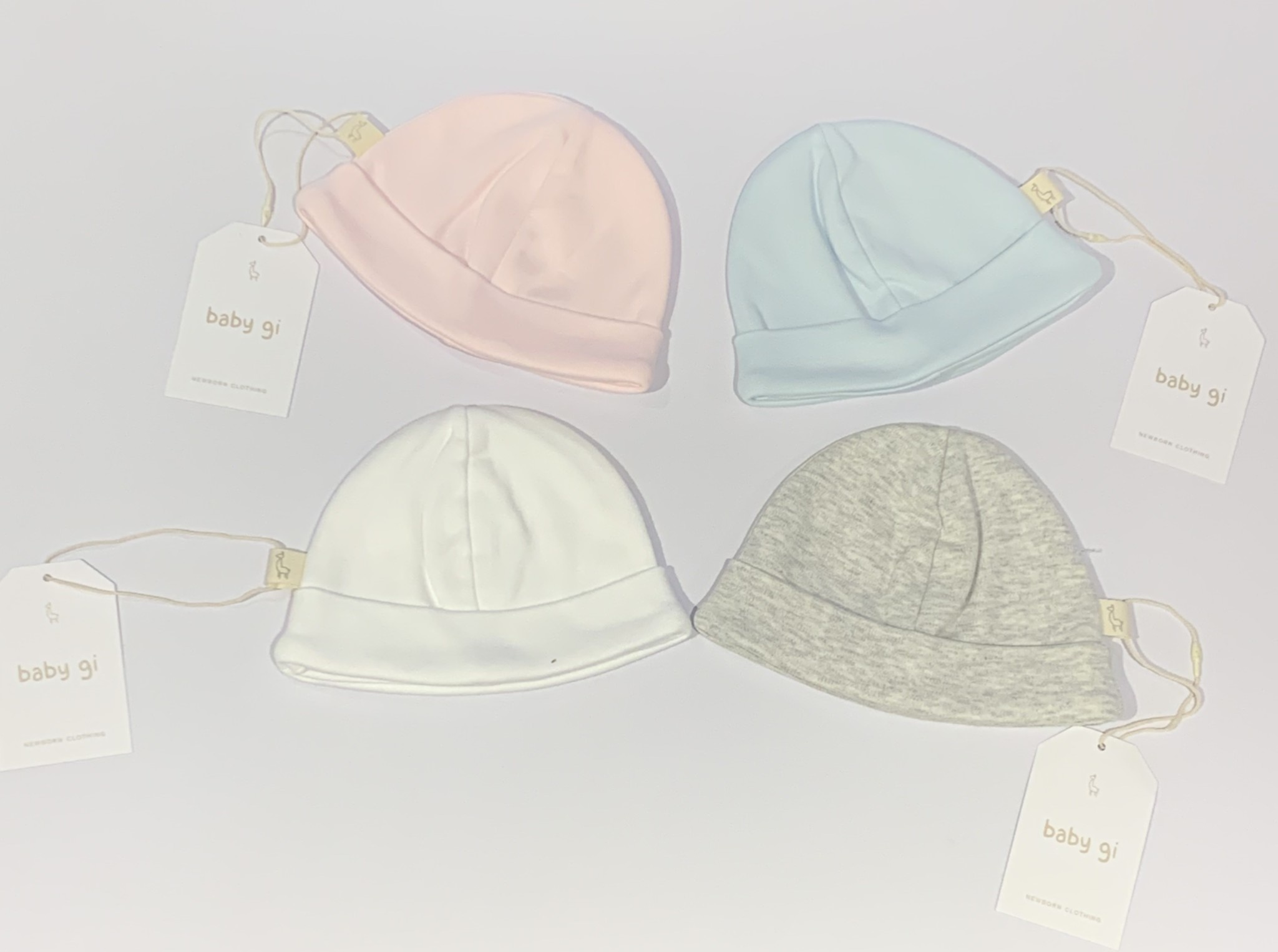 Baby Gi Baby gi cotton hat 0-1 month LAST ONE GREY