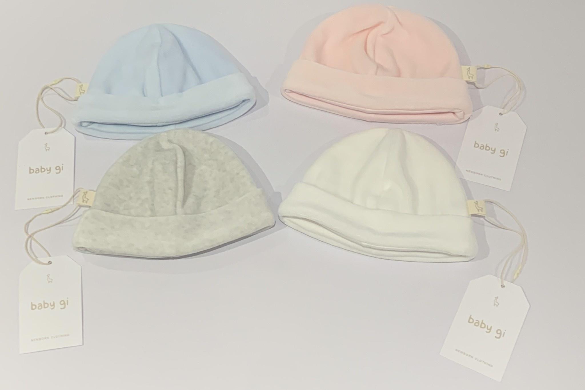 Baby Gi Baby gi Velour hat 0-1 Month