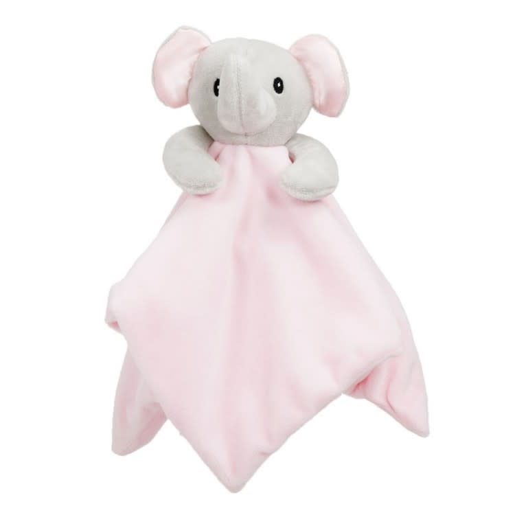 Soft Touch Soft touch pink elephant baby comforter