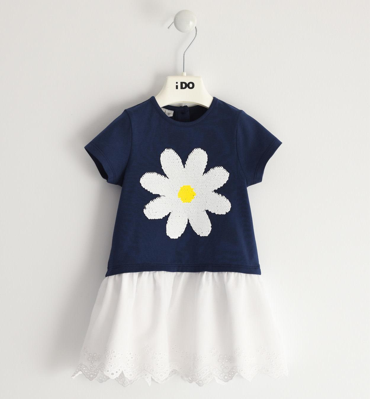 iDo iDo SS20 Girls summer daisy dress J300