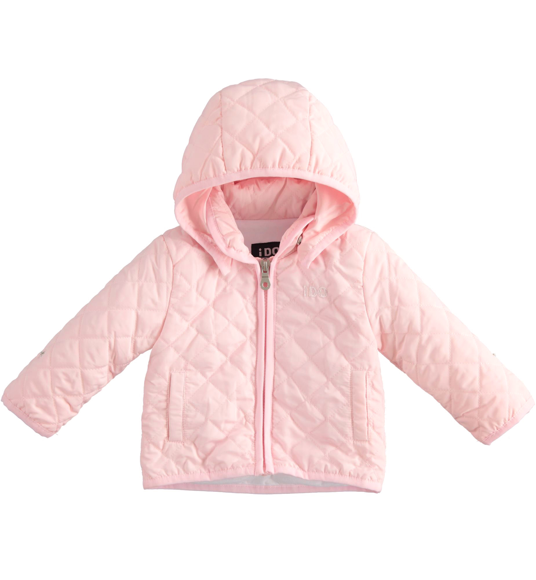 iDo IDo SS20 girls Pink quilted jacket J159