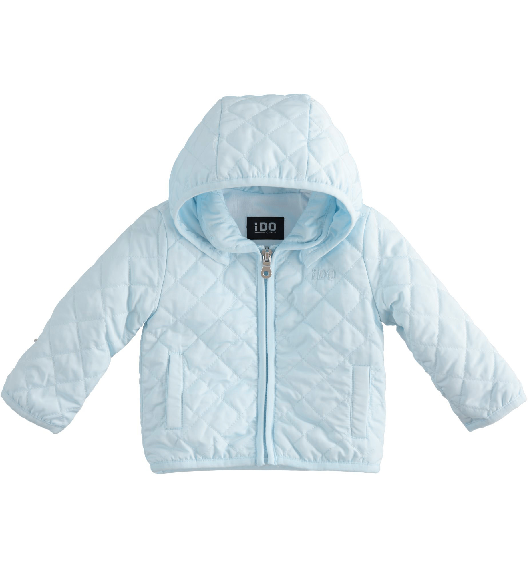 iDo IDO SS20 Boys Blue Quilted Jacket J159