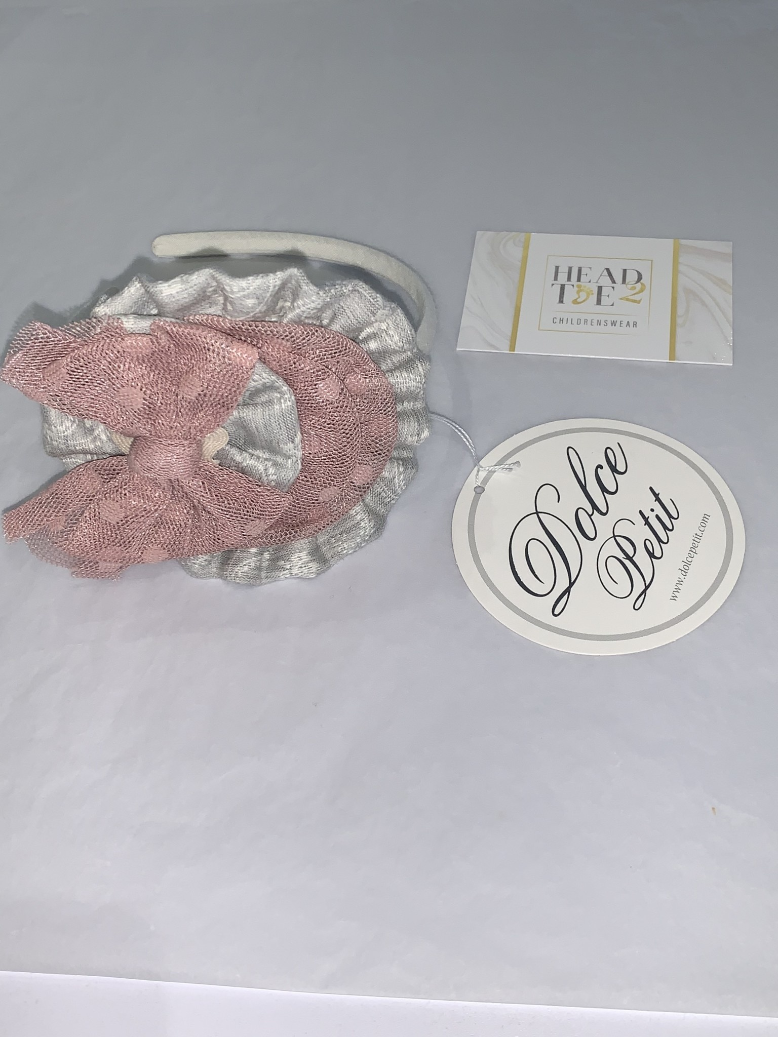 Dolce Petit Dolce Petit Hairband/Clasp 2 in 1 2216/DP