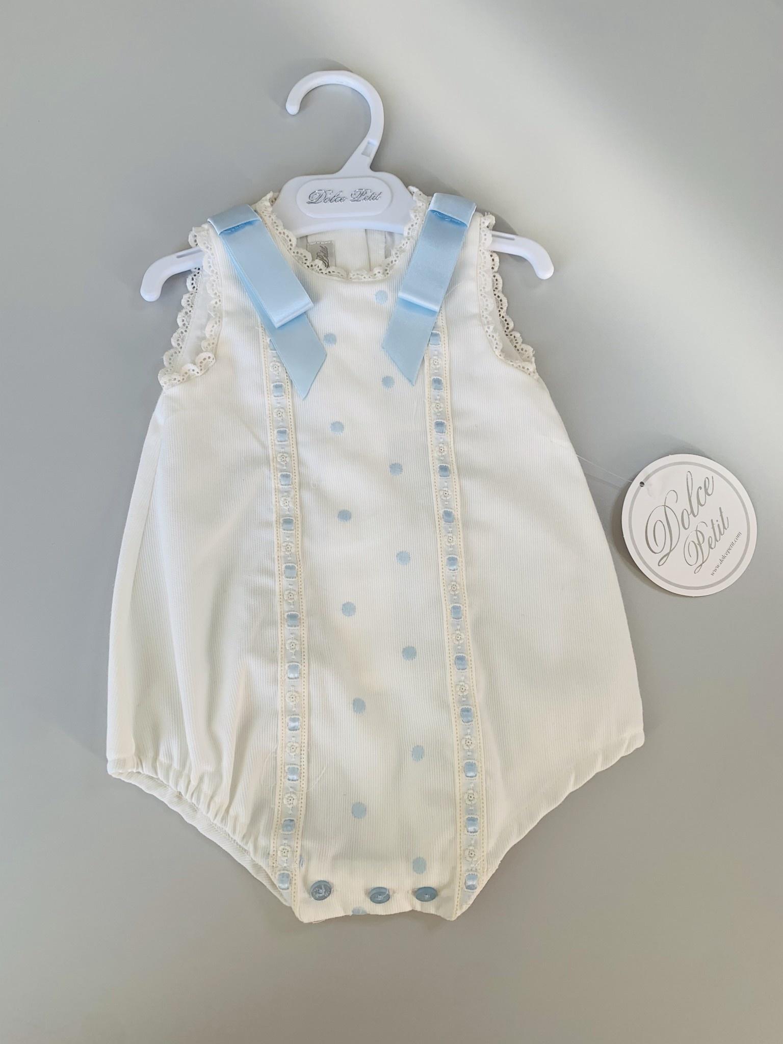 Dolce Petit DOLCE PETIT BABY BLUE ROMPER 2013/P