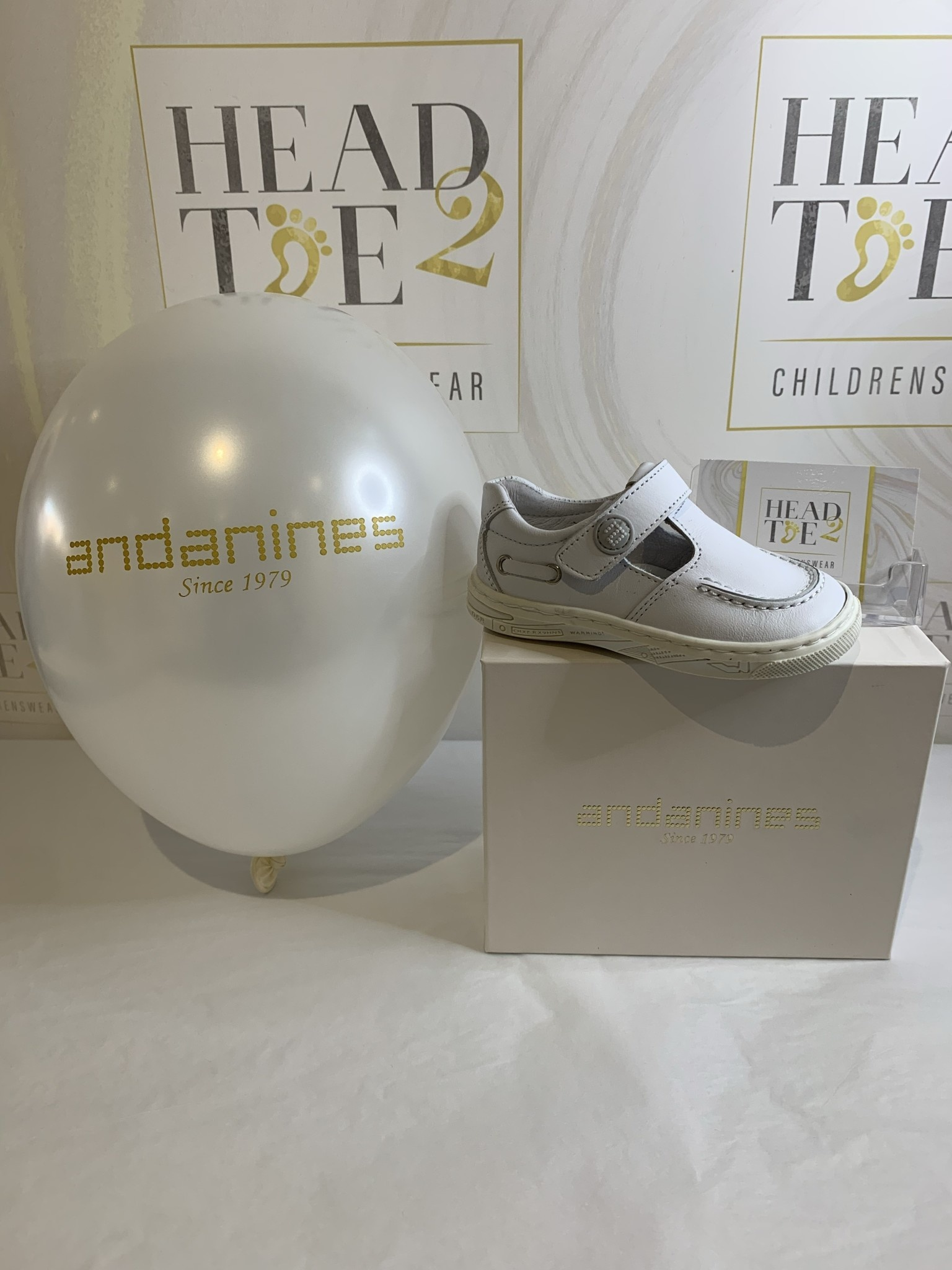Andanines ANDANINES BOYS CASUAL LEATHER SHOES 161253