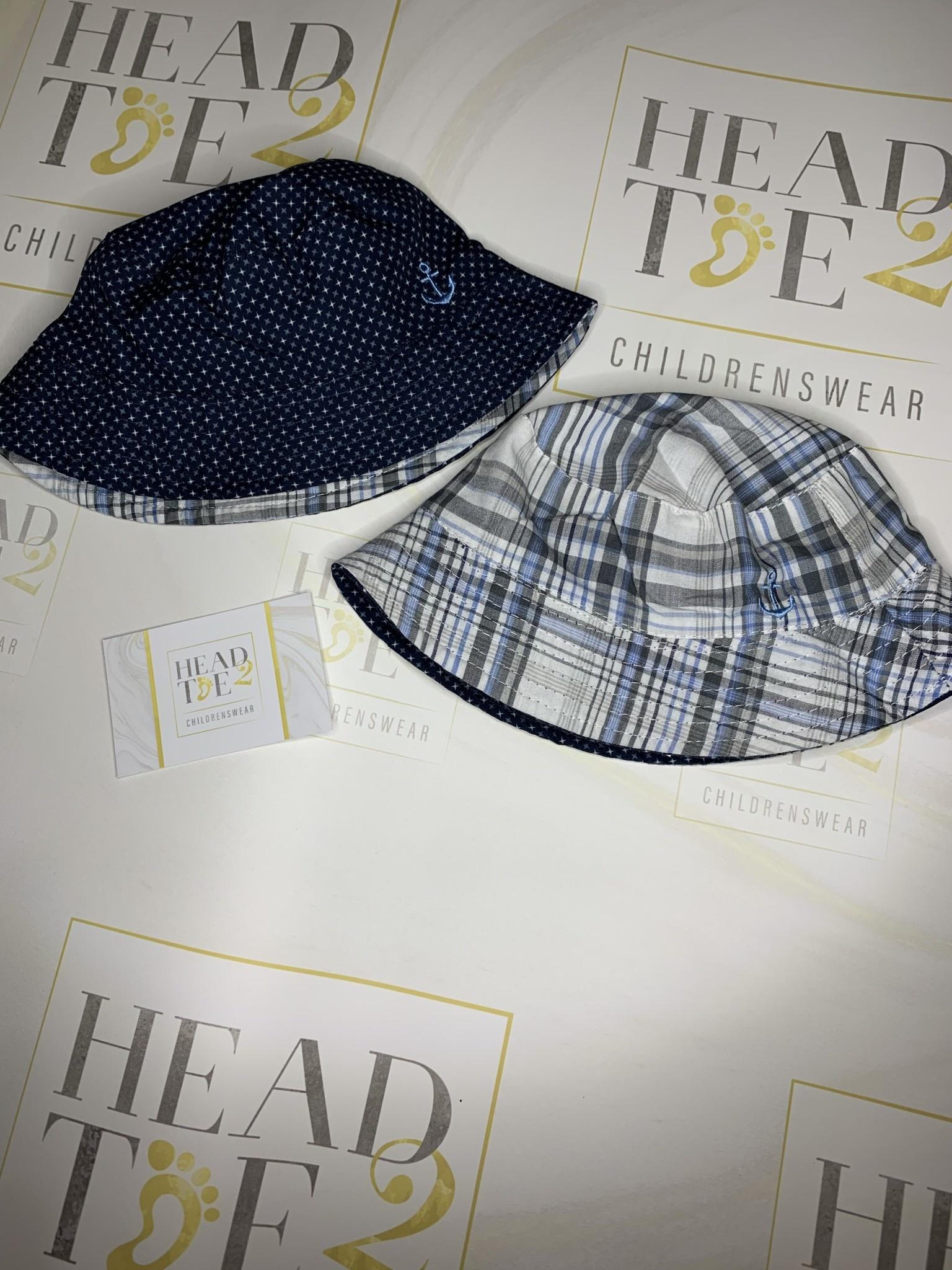 boys reversible summer hat