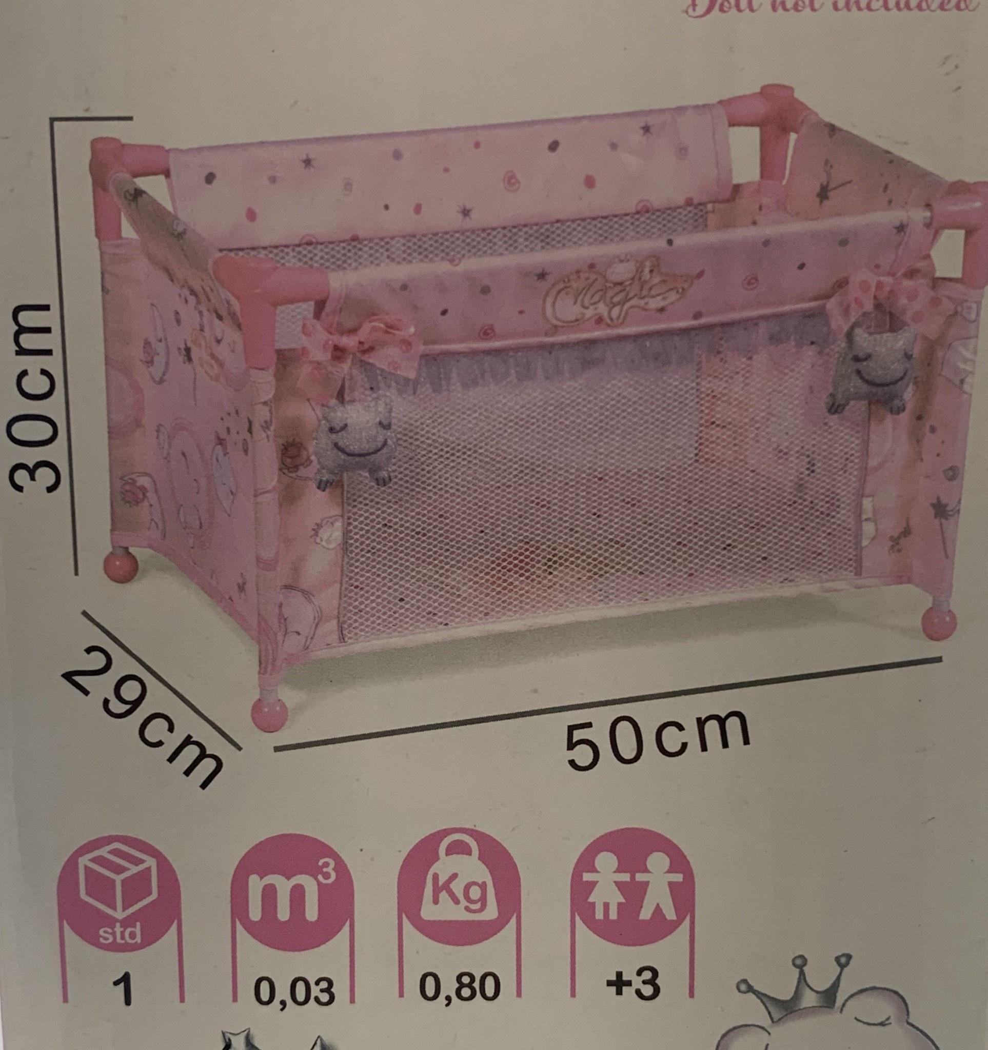 De Cuevas De Cuevas Magic Maria Travel Bed with Bag 50034