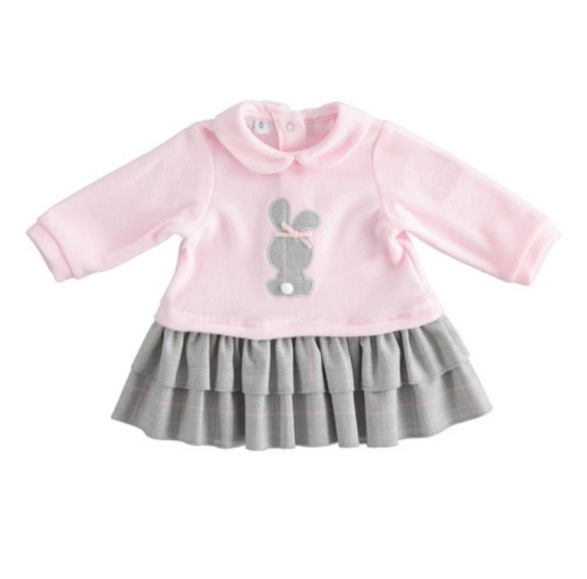 iDo iDO Girls Pink Girls Bunny Dress 1259