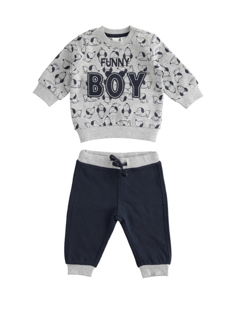 iDo iDO Boys 2 piece Jogger Set 1156