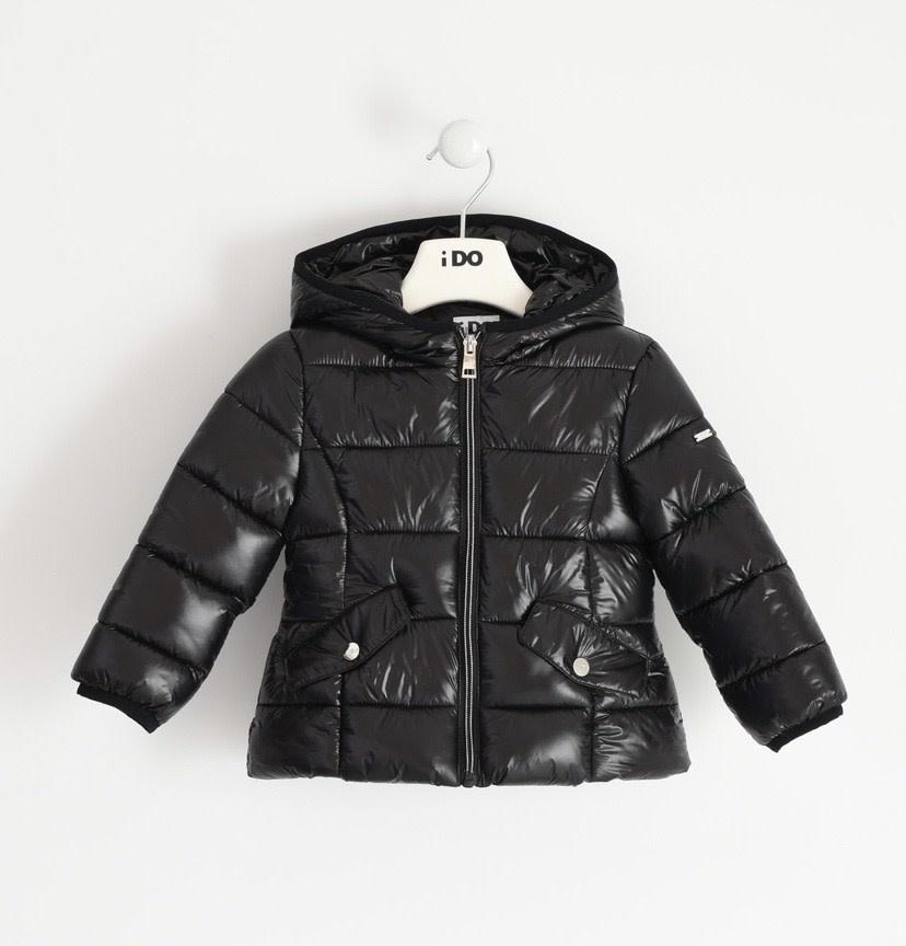 iDo iDO Girls Black  Padded Jacket 1341