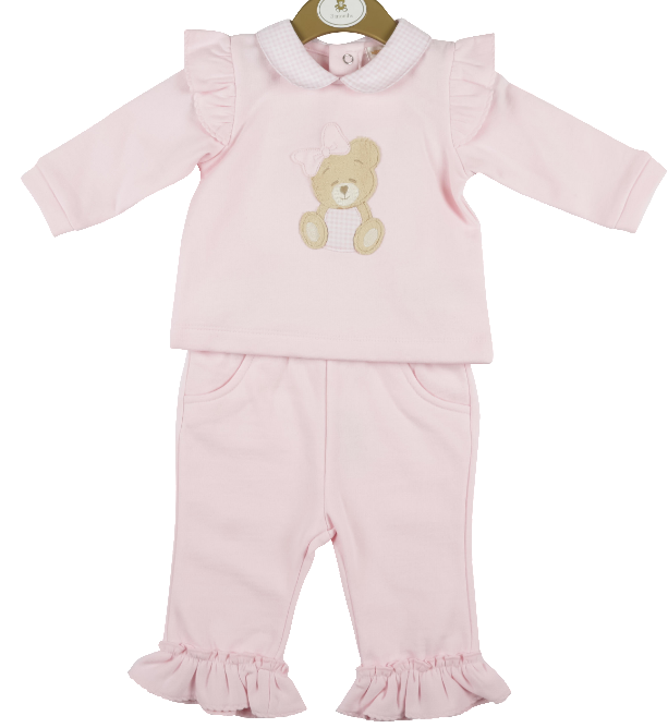 Mintini Baby Mintini teddy top and trouser set MB4411