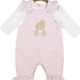 Mintini Baby Mintini teddy top and dungaree set MB4413