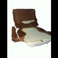 thumb-Garniture origine siège AV cuir marron (assise dossier panneau de fermeture pour dossier AV avec ressorts) Citroën ID/DS-3