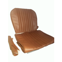 thumb-Front seat cover brown leather Citroën ID/DS-5