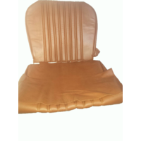 thumb-Front seat cover brown leather Citroën ID/DS-8