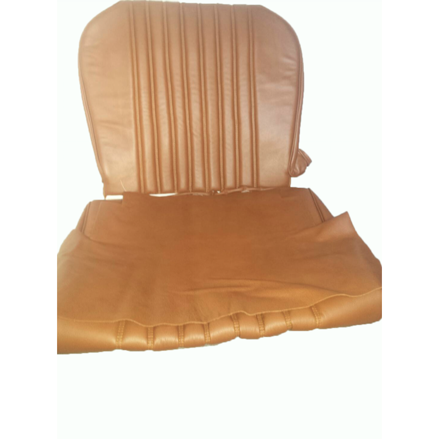 Front seat cover brown leather Citroën ID/DS-8