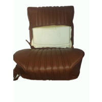 thumb-Front seat cover brown leather Citroën ID/DS-10