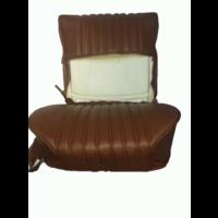thumb-Garniture origine siège AV cuir marron (assise dossier panneau de fermeture pour dossier AV avec ressorts) Citroën ID/DS-10