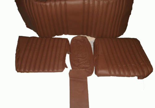 ID/DS Rear bench cover brown leather Citroën ID/DS
