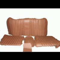 thumb-Garniture origine banquette AR BL cuir marron (assise 1 pièce dossier 4 pièces) Citroën ID/DS-3