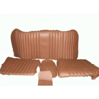 thumb-Rear bench cover brown leather Citroën ID/DS-3