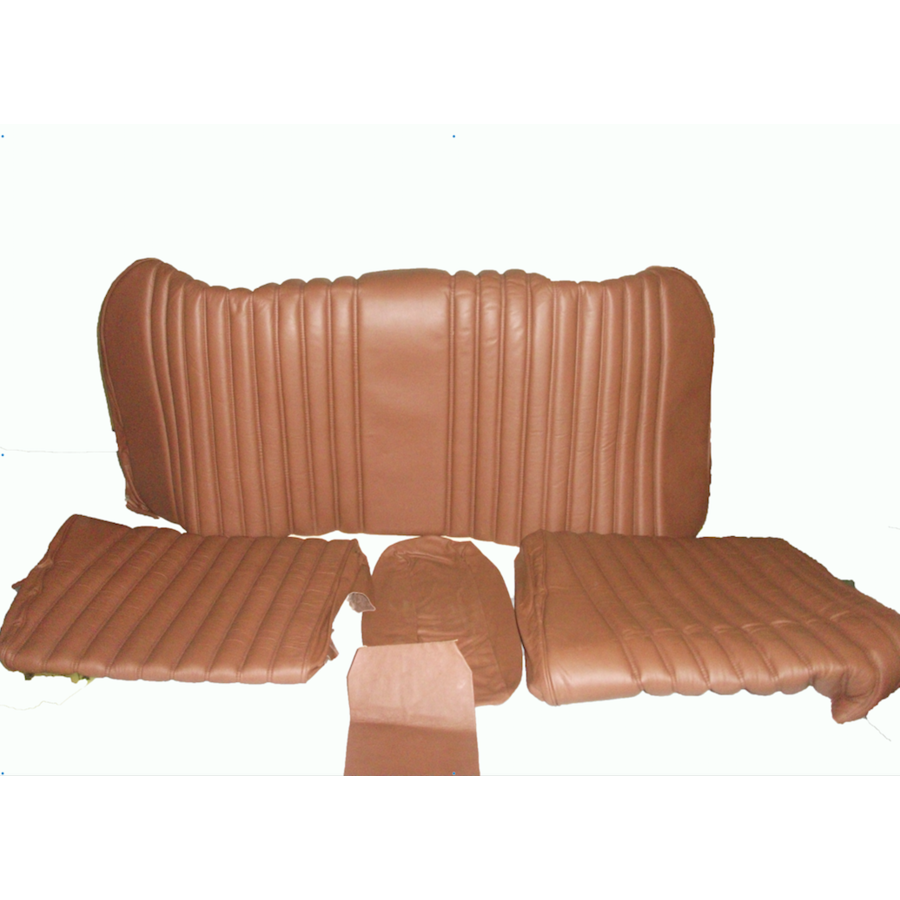 Rear bench cover brown leather Citroën ID/DS-3