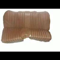 thumb-Garniture origine banquette AR BL cuir marron (assise 1 pièce dossier 4 pièces) Citroën ID/DS-6