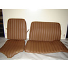 ID/DS Rear bench cover brown leather safari Citroën ID/DS