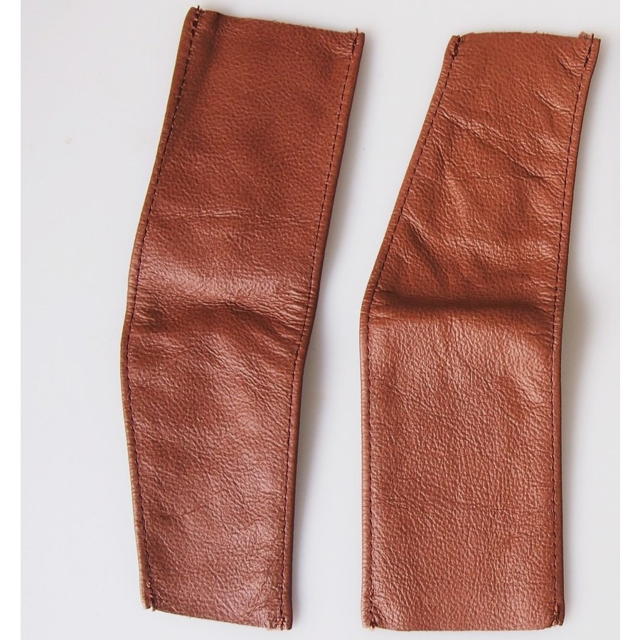Spring cover patches brown leather Citroën ID/DS-2