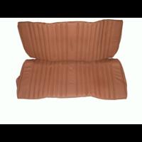 thumb-Garniture origine banquette AR BK cuir tabac (assise 1 pièce dossier 1 pièce) Citroën ID/DS-1